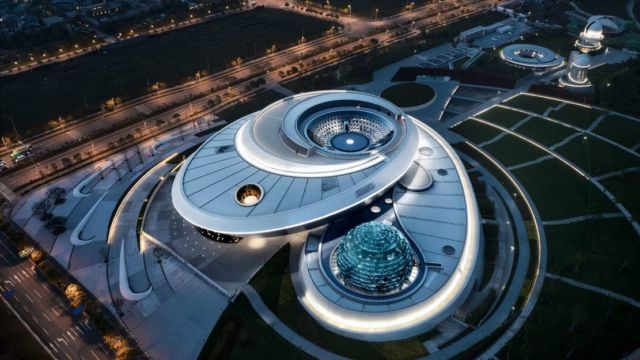 World's largest Astronomy Museum in Shanghai