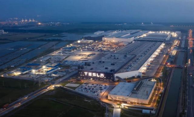 A look inside Tesla Giga Shanghai factory