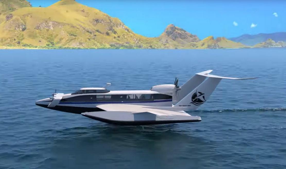 Aquas EP-15 Ekranoplan ground-effect craft (8)