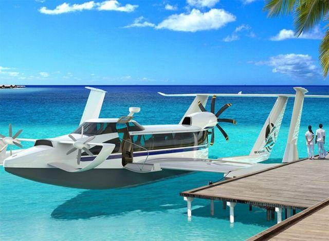 Aquas EP-15 Ekranoplan ground-effect craft (6)