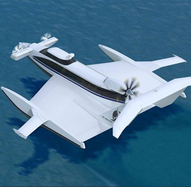 Aquas EP-15 Ekranoplan ground-effect craft (4)