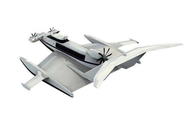 Aquas EP-15 Ekranoplan ground-effect craft (2)