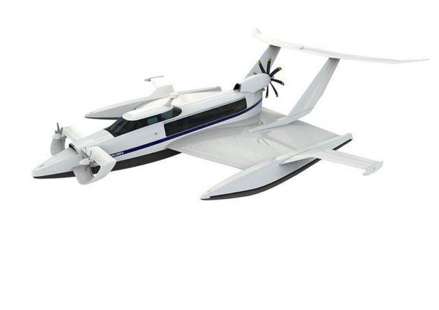 Aquas EP-15 Ekranoplan ground-effect craft (1)