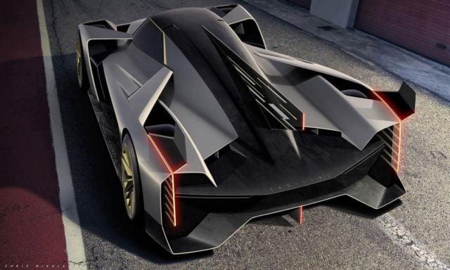 Cadillac new Le Mans Daytona hybrid