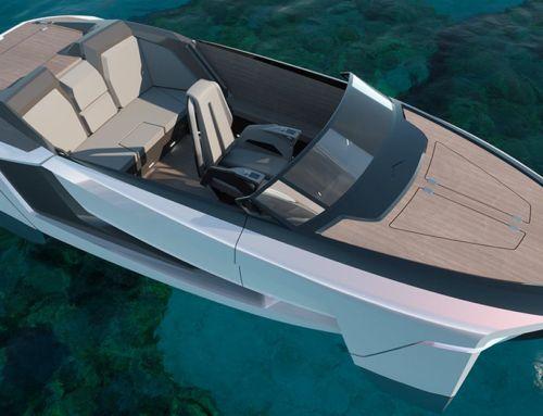 Future-E looks like a car and flies over the waves