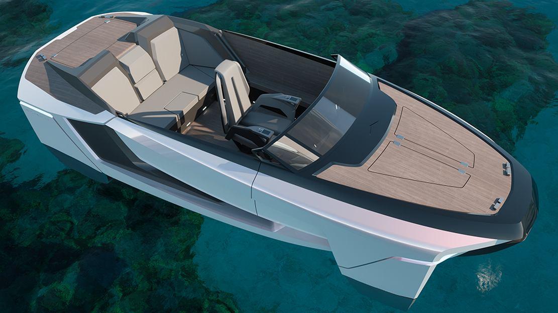 Future-E looks like a car and flies over the waves (10)
