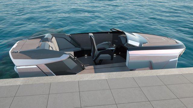 Future-E looks like a car and flies over the waves (6)