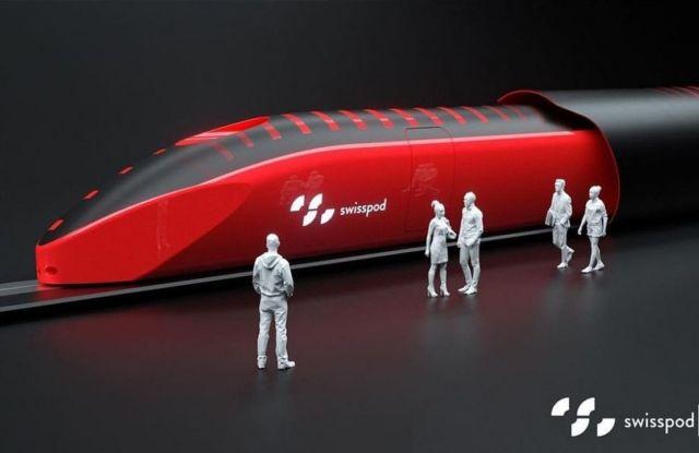 Swisspod hyperloop