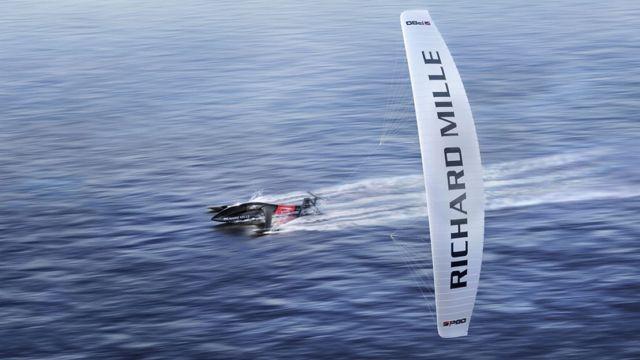 SP80 kiteboat