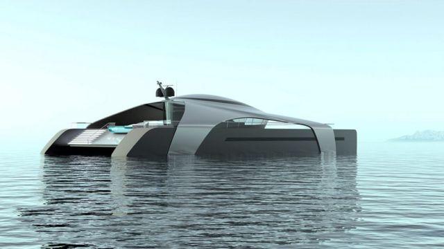 Hydrogen-Powered Catamaran concept (6)