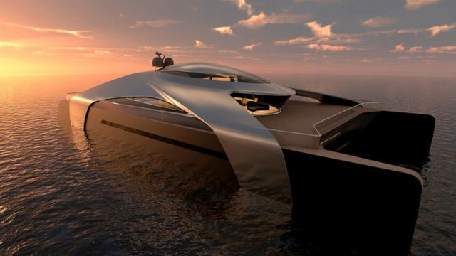 Hydrogen-Powered Catamaran concept (4)