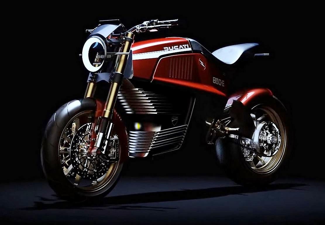 Italdesign Ducati 860-E Concept Motorcycle