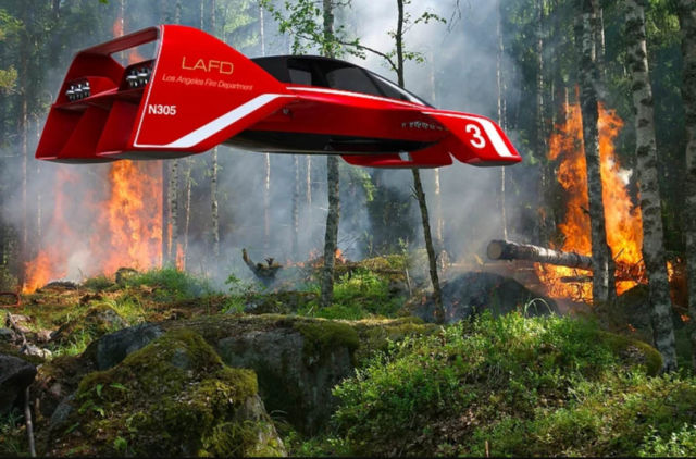 LEO Coupe Flying car (1)