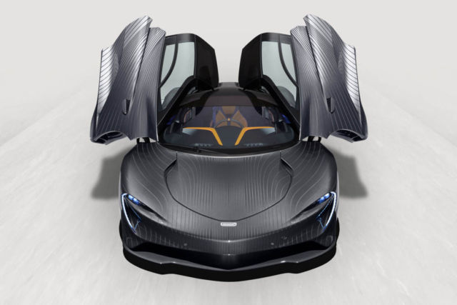 McLaren Speedtail 'Albert' hypercar