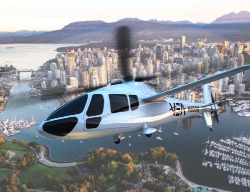 PA-890 all-electric-powered Helicopter