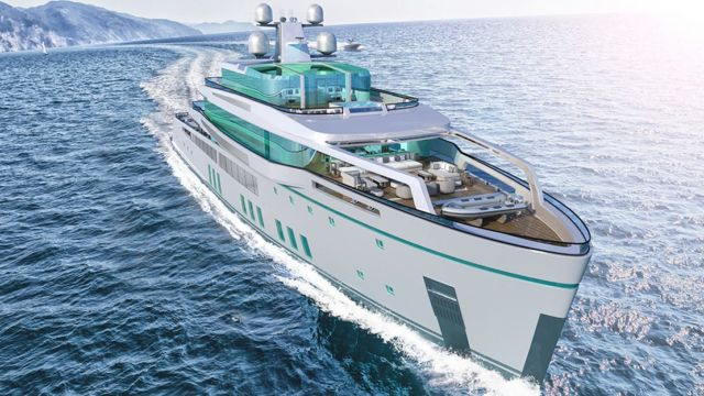 SEE 213-foot Hybrid Superyacht concept