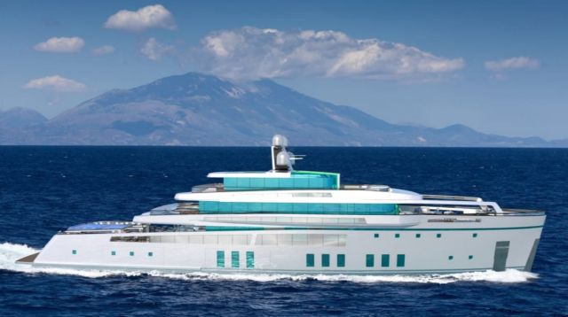 SEE 213-foot Hybrid Superyacht concept (5)