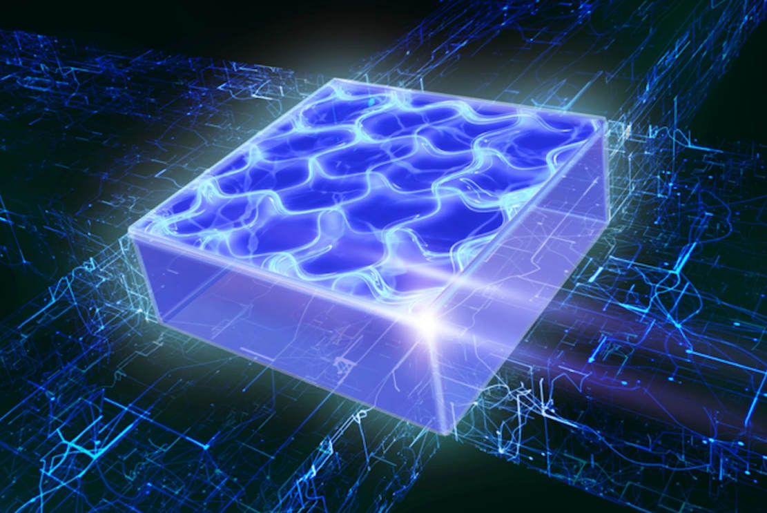 Supersolid State of Matter in a new Dimension