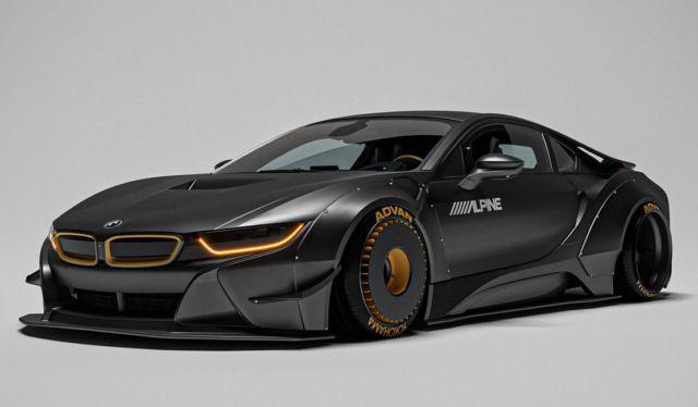 The sleek Razorite BMW i8 concept