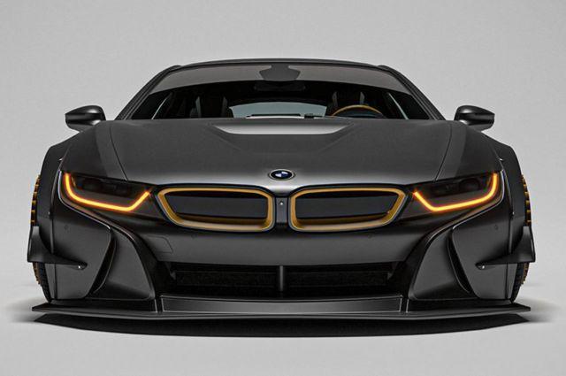 The sleek Razorite BMW i8 concept (7)