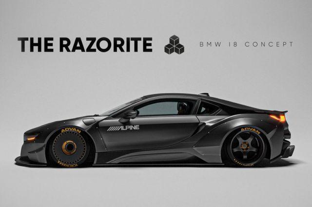 The sleek Razorite BMW i8 concept (6)