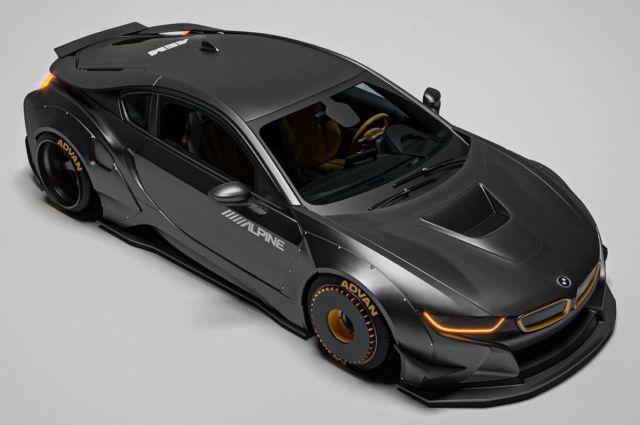 The sleek Razorite BMW i8 concept (4)
