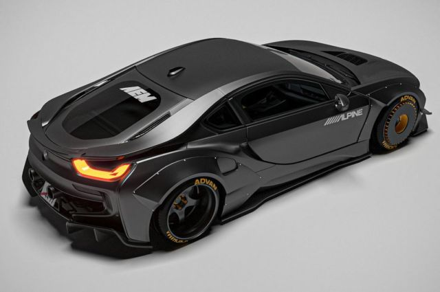 The sleek Razorite BMW i8 concept (3)