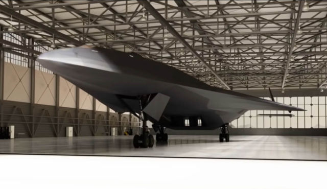 This plane doesn't 'exist'... Aurora Top Secret Spy Plane SR-91