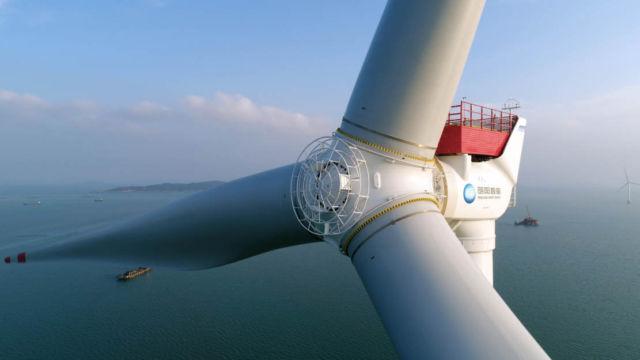 World's biggest Wind Turbine has a 242-meter diameter rotor