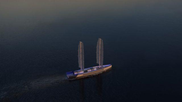 Arctic 85 meter luxury Sailing Yacht (1)