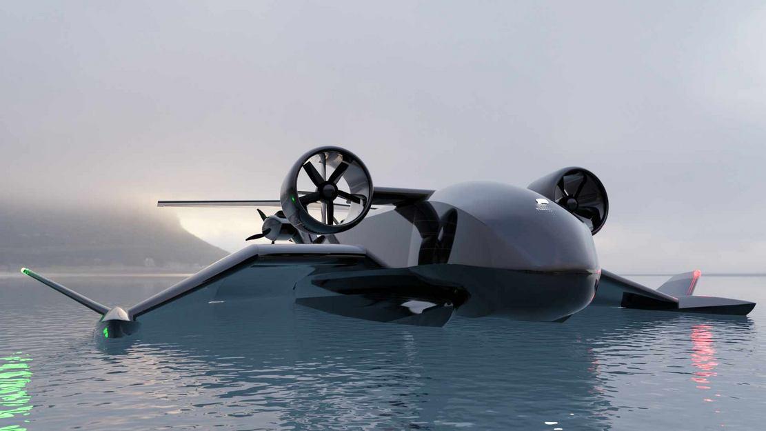 Autonomous Ekranoplans