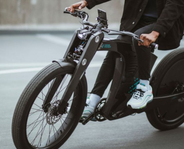 CrownCruiser Carbon Fiber e-Bike (9)