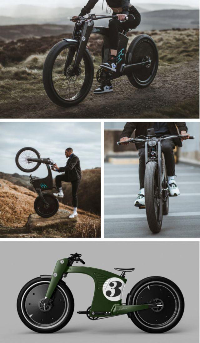 CrownCruiser Carbon Fiber e-Bike (1)