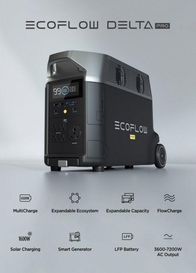 EcoFlow DELTA Pro Portable Home Battery