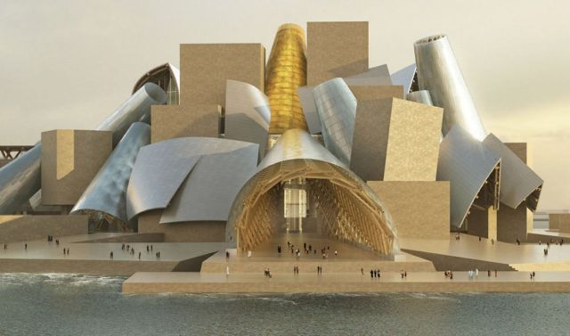 Frank Gehry's Guggenheim Abu Dhabi Museum