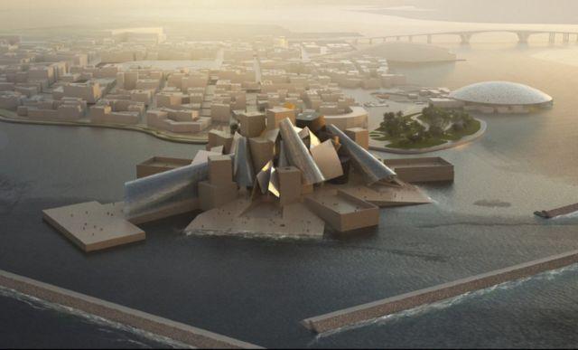 Frank Gehry's Guggenheim Abu Dhabi Museum (5)