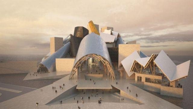 Frank Gehry's Guggenheim Abu Dhabi Museum (3)