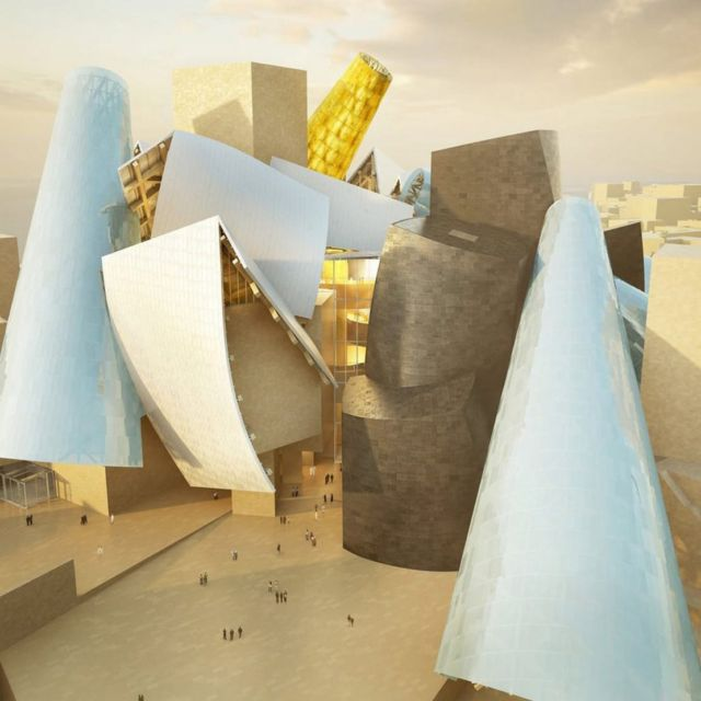 Frank Gehry's Guggenheim Abu Dhabi Museum (2)