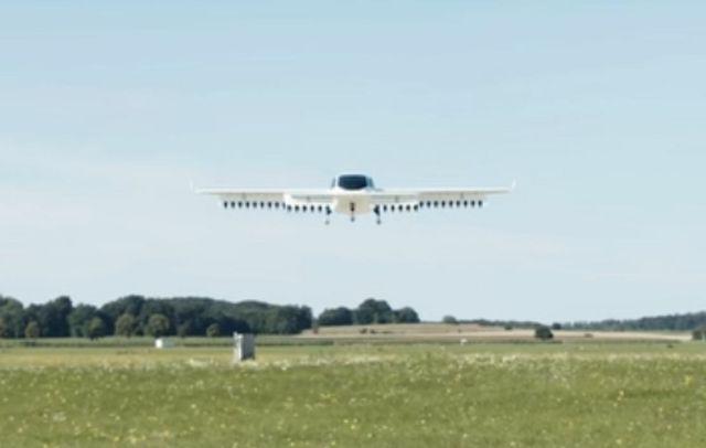 Lilium 5th-gen flight test demonstration