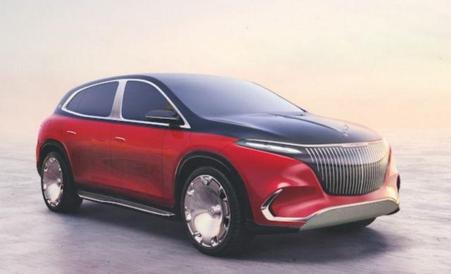 Mercedes Maybach EQS concept