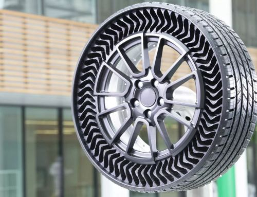 Michelin's Airless Tires in their first public outing