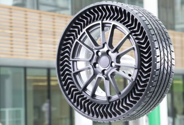 Michelin's Airless Tires