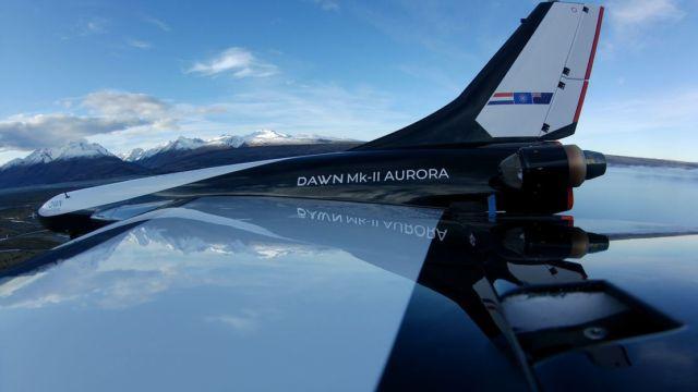 Mk-II Aurora Spaceplane (1)