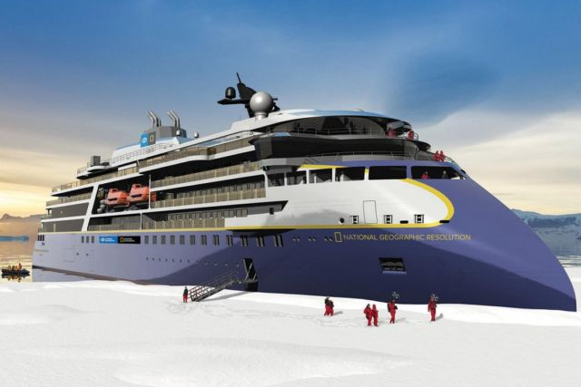 National Geographic Resolution Expedition Ship