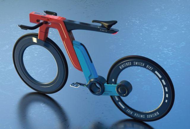 Nintendo Switch e-bike