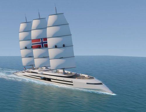 Norway 161 meter Superyacht concept