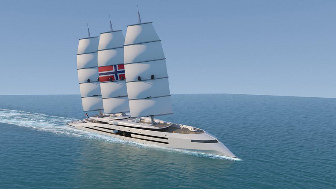 Norway 161 meter Superyacht concept (6)