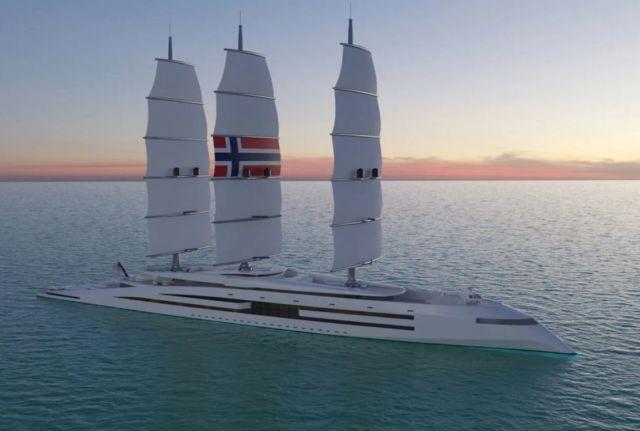 Norway 161 meter Superyacht concept (5)