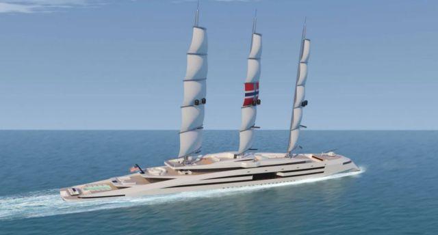 Norway 161 meter Superyacht concept (2)