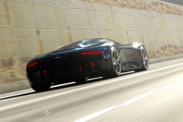 Porsche GTE Grand Tourer concept (1)